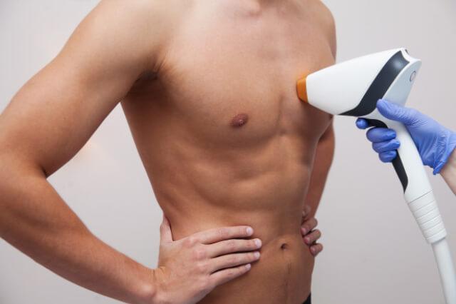 hombres afeitarse depilarse